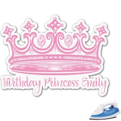 Birthday Princess Graphic Iron On Transfer (Personalized)