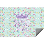 Birthday Princess Indoor / Outdoor Rug (Personalized)