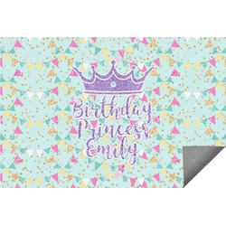 Birthday Princess Indoor / Outdoor Rug (Personalized)
