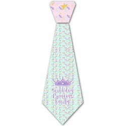 Birthday Princess Iron On Tie (Personalized)