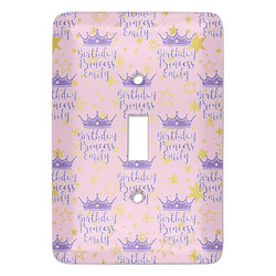 Birthday Princess Light Switch Covers - Multiple Toggle Options Available (Personalized)