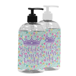 Birthday Princess Plastic Soap / Lotion Dispenser (Personalized)