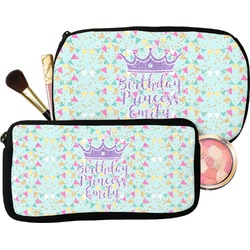 Birthday Princess Makeup / Cosmetic Bag (Personalized)