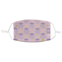 Birthday Princess Adult Cloth Face Mask (Personalized)