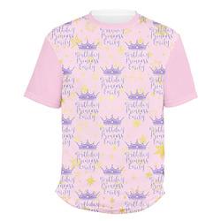 Birthday Princess Men's Crew T-Shirt (Personalized)