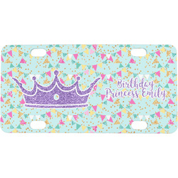 Birthday Princess Mini / Bicycle License Plate (Personalized)