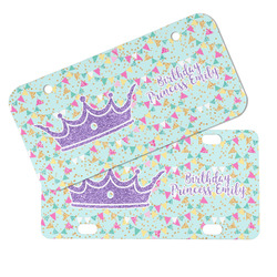Birthday Princess Mini/Bicycle License Plates (Personalized)
