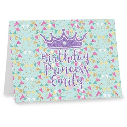 Birthday Princess Note cards (Personalized)