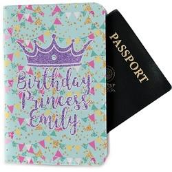 Birthday Princess Passport Holder - Fabric (Personalized)