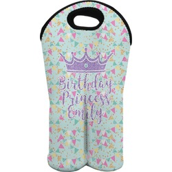 Birthday Princess Wine Tote Bag (2 Bottles) (Personalized)