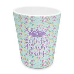 Birthday Princess Plastic Tumbler 6oz (Personalized)