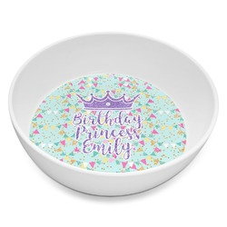 Birthday Princess Melamine Bowl 8oz (Personalized)