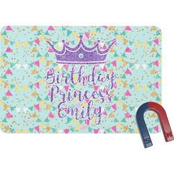 Birthday Princess Rectangular Fridge Magnet (Personalized)