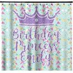 Birthday Princess Shower Curtain (Personalized)