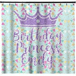 Birthday Princess Shower Curtain (Personalized)