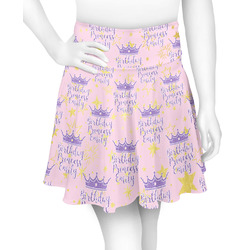 Birthday Princess Skater Skirt (Personalized)