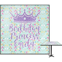 Birthday Princess Square Table Top (Personalized)