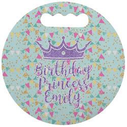 Birthday Princess Stadium Cushion (Round) (Personalized)