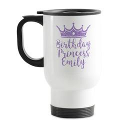 Birthday Princess Stainless Steel Travel Mug with Handle