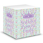 Birthday Princess Sticky Note Cube (Personalized)