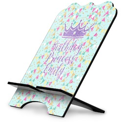 Birthday Princess Stylized Tablet Stand (Personalized)
