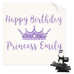 Birthday Princess Sublimation Transfer (Personalized)