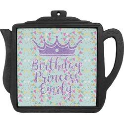 Birthday Princess Teapot Trivet (Personalized)