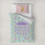 Birthday Princess Toddler Bedding w/ Name or Text