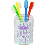 Birthday Princess Toothbrush Holder (Personalized)