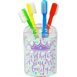 Birthday Princess Toothbrush Holder (Personalized)