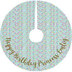 Birthday Princess Tree Skirt (Personalized)