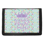 Birthday Princess Trifold Wallet (Personalized)