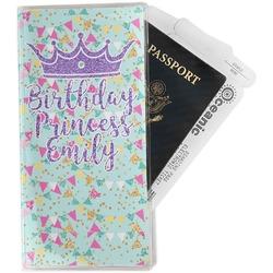 Birthday Princess Travel Document Holder