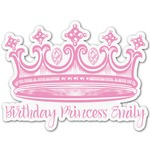 Birthday Princess Graphic Decal - Custom Sizes (Personalized)