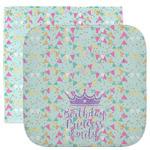 Birthday Princess Facecloth / Wash Cloth (Personalized)