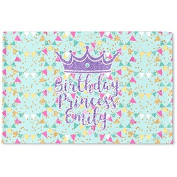 Birthday Princess Woven Mat (Personalized)