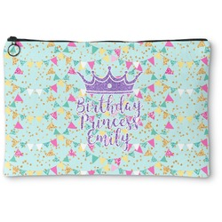 Birthday Princess Zipper Pouch (Personalized)