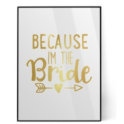 Bride / Wedding Quotes and Sayings Foil Print (Personalized)
