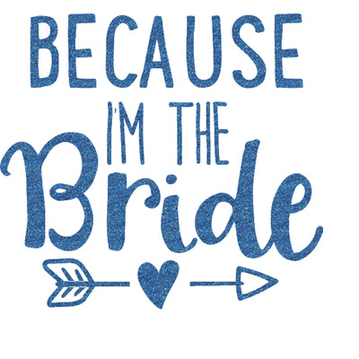 Bride Wedding Quotes And Sayings Glitter Sticker Decal Custom New Wedding Quotes