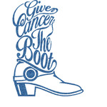 Fighting Cancer Quotes and Sayings Glitter Sticker Decal - Custom Sized (Personalized)