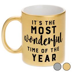 Christmas Quotes and Sayings Metallic Mug