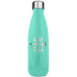 Christmas Quotes and Sayings RTIC Bottle - Teal (Personalized)