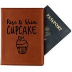 Cute Quotes and Sayings Leatherette Passport Holder (Personalized)