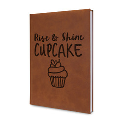 Cute Quotes and Sayings Leatherette Journal (Personalized)