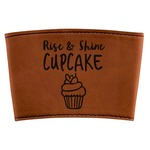 Cute Quotes and Sayings Leatherette Mug Sleeve (Personalized)