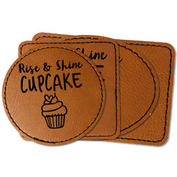 Cute Quotes and Sayings Faux Leather Iron On Patch
