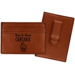 Cute Quotes and Sayings Leatherette Wallet with Money Clip (Personalized)