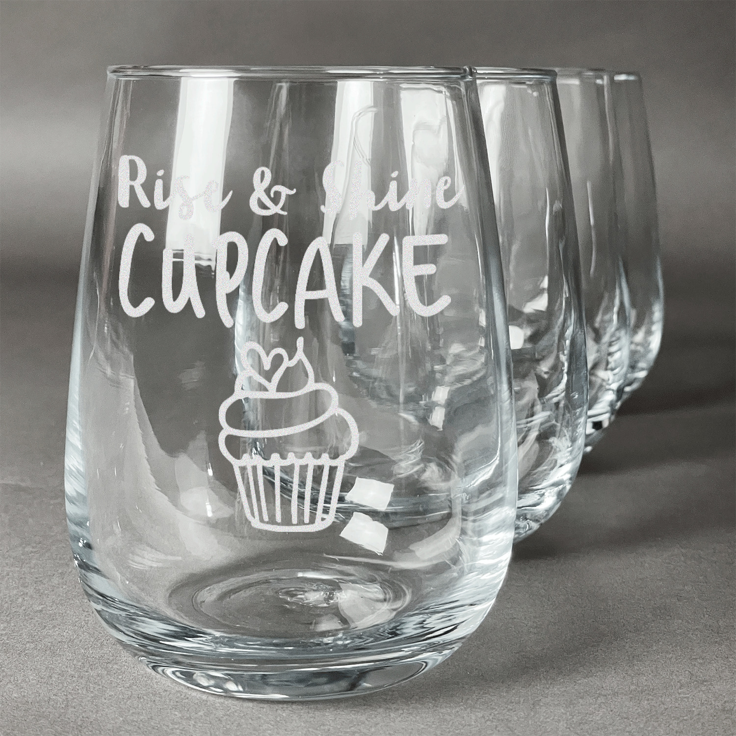 Cute quotes and sayings wine glasses stemless set of 4 for Cute quotes for wine glasses