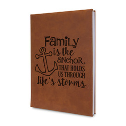 Family Quotes and Sayings Leatherette Journal (Personalized)