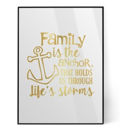 Family Quotes and Sayings Foil Print (Personalized)
